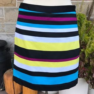 Worthington Striped Pencil Skirt